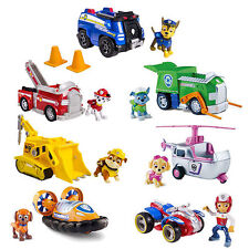 Nickelodeon Spin Master Paw Patrol Racers Action Pack Pup Badge Ryder Skyespin
