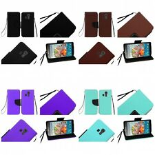 For Kyocera Hydro Icon / Hydro Life Wallet Case Pouch With ID Card Pocket Slots