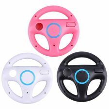Game Racing Steering Wheel for Nintendo Wii Mario Kart Remote Controller EA