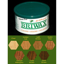 Briwax Toluene Free Furniture Wax 16 oz - Multiple Colors