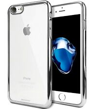 Genuine MERCURY Goospery Silver Ring Jelly Case Skin Cover For Apple iPhone 7