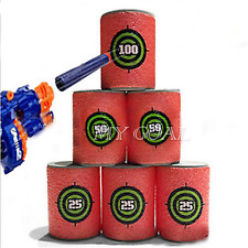 6pcs Soft EVA Bullet Target Gun Shoot Dart for NERF N-Strike Blaster Kids Toy
