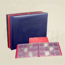 10-Page 120 Holders Money Penny Collection Pockets Coin Display Album Book New