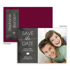 Wedding Announcements Set of 10 Kingsley Photo Save the Date Cards AA4015