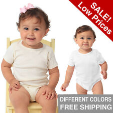 Organic Infant One Piece Eco Baby Baodysuit Size 0-3, 3-6 6-12,18-24 USA