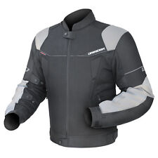 Dririder L.I.T Climate Control 3 Motorcycle Sport Vented Mens Jacket Xenon S-6XL