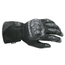 Dririder Air - Ride Leather Summer Sport Touring Gloves Mens Black XS - 5XL