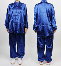 China Tai chi Chuan TaiChi Uniform Wushu Blue KungFu uniforms Chinese Kung Fu