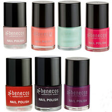 BENECOS NATURAL NAIL POLISH 9 ML - FORMALDEHYDE FREE - ALL SHADES AVAILABLE