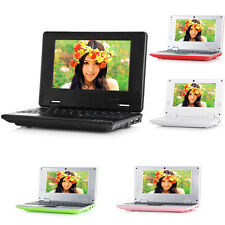 "7"" Android Mini Notebook 4GB/8GB Quad Core Laptop PC Netbook Keyboard WIFI Cam"