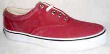NEW SPERRY TOP SIDER STRIPER  LL CVO CHILI RED SNEAKERS BOAT SHOES