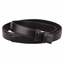 """Replacement Black Leather Belt for Mens belts Tall Womens ferragamo buckles 1.1"""""""