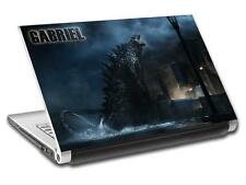 Godzilla Personalized LAPTOP Skin Vinyl Decal Sticker ANY NAME L312