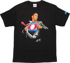 Super Barack Obama Alex Ross Design T-Shirt, New Sealed with Tags