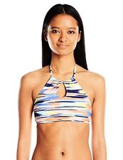 Roxy Women's Smooth Ikat Crop Halter Bikini Top - Choose SZ/Color