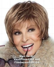 "RAQUEL WELCH - 10"" x 8"" Colour Photograph RAQUEL WELCH WIG COLLECTION"