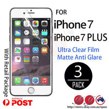 3x LCD SCREEN PROTECTOR GUARD for iPhone 7 7 PLUS anti glare matte /Ultra clear