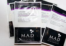 M.A.D Skincare Samples- Large selection