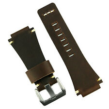 B & R Bands Chestnut Vintage Leather Bell & Ross Watch Strap Band BR01 BR03