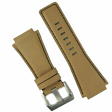 B & R Bands Desert Sand Leather Bell & Ross Watch Strap Band BR01 BR03