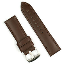 B & R Bands 22mm Brown Calf Leather Watch Band Strap