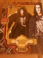 "WCW 1999 Sting Collector Edition Toy Biz/Marvel 8"" Figure"