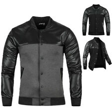 Cool Mens Fashion Casual Jacket Cotton Warm Winter Coat Slim Outwear Overcoat