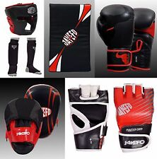 JAYEFO BOXING MMA GLOVES STRIKE SHIELDS FOCUS MITTS SHIN INSTEP HEAD GUARD RDX