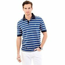 K52127 Nautica Mens Striped Perfomance Deck Polo Shirt (X- Choose SZ/Color.