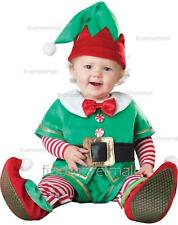 Baby Elf Costume Santas Little Helper Infant Christmas Outfit Fancy Dress