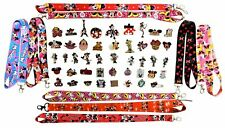 Minnie Mouse Lanyard and 5 Assorted Pin Set Walt Disney World Trading ~Brand NEW