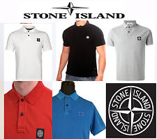 Stone Island Short Sleeve Men's Polo T-Shirt