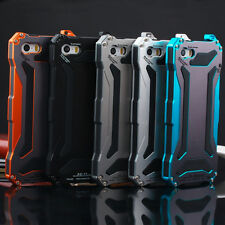 Aluminum Glass Metal Slim Shockproof Case Cover for iPhone 5s SE 6s 7 Plus