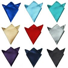 Solid For Wedding Dress Party Pocket Pocket Square Silk Handkerchief Hanky