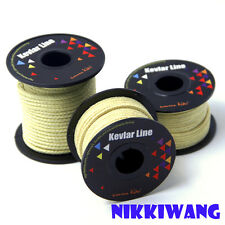50ft/100ft Braided Kevlar Line Outdoor Kite String Fishing Line Camping Cord