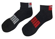 PUMA P105418 Puma Socks Mens Quarter Cut Socks- Choose SZ/Color.
