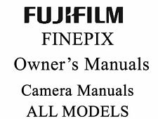 Fuji FujiFilm FinePix Camera User Guide Operator Manual (F)(FX) and IS Pro ISPRO