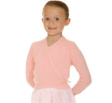 ROCH VALLEY CROSSOVER BALLET CARDIGAN - PINK - GIRLS SIZES FREE POSTAGE