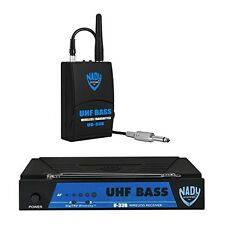 Nady U-33B UHF Wireless Bass Guitar Instrument System with True Diversity