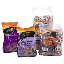 Various Bird Food | For Feeders Garden Table | Peanuts Suet Seeds | Dawn Chorus