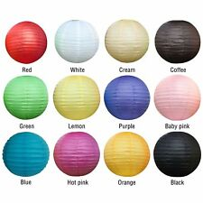 Large Round Paper Lantern Lamp for Wedding Birthday Party Festival Decoration