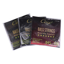 CAYE BW Electric Bass Guitar Silver-plated Guitar Strings BW 4/5/6/ Strings Sets