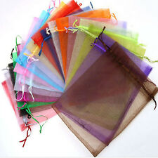 Wedding Favor 50pcs Jewellery Packing Pouches Organza Candy Bags Gift Bags