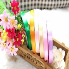 Sewing Wrapping Single Bow Yards 5/8'' Satin Handicraft Wedding Ribbon