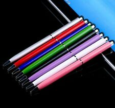 1/10pcs 2 in1 Touch Screen Stylus Ballpoint Pen for Cell Phone Tablet Android
