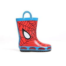 Boys Character Wellies Spiderman New With Tags