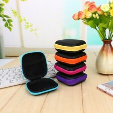 Earphone Storage Case Cable Bag Headphone Portable Mini Coin Purse Pouch Hard