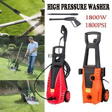 NEW! Clean Speedy Wash 1800 PSI 125 bar Electric Pressure Power Washer EY6E