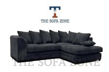 Brand New Lush Dylan Fabric Corner or 3 & 2 Sofa Suite Settee Couch