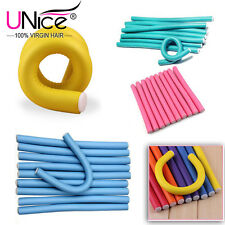 10pcs Hair Rollers Soft Foam Curler Makers Bendy Twist Hair Curler Free Shipping